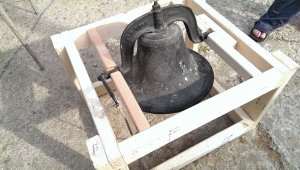 The bell one of our fabulous customers loaned to us